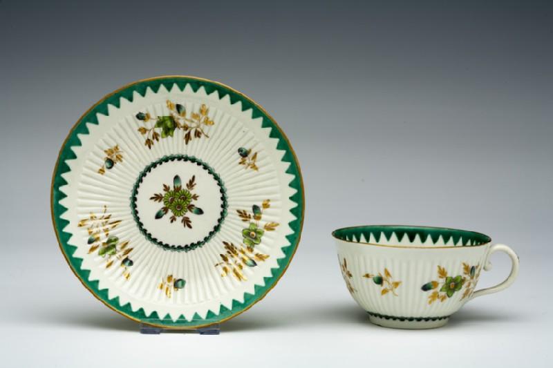 Teacup and saucer (WA1957.24.1.469)