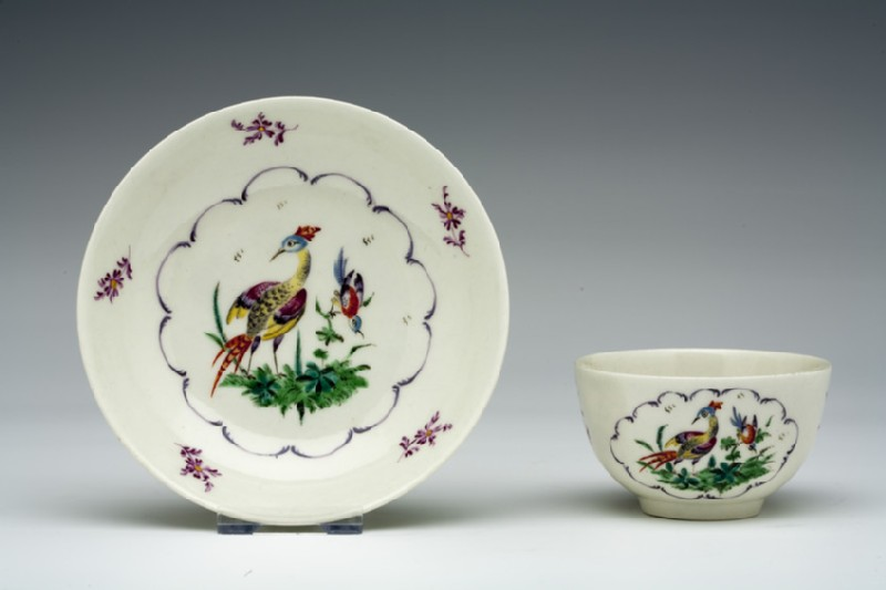 Tea bowl and saucer (WA1957.24.1.510)