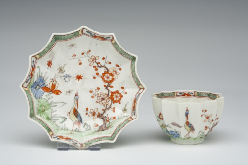 Tea bowl and saucer (WA1957.24.1.529)