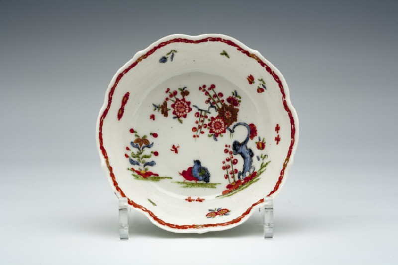 Saucer (for caudle cup)