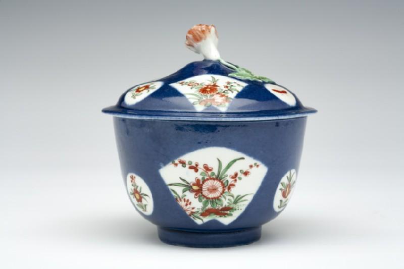 Sugar bowl and cover (WA1957.24.1.568)