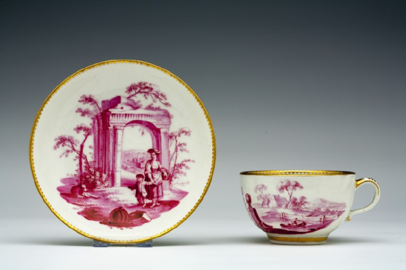 Teacup and saucer (WA1957.24.1.65)