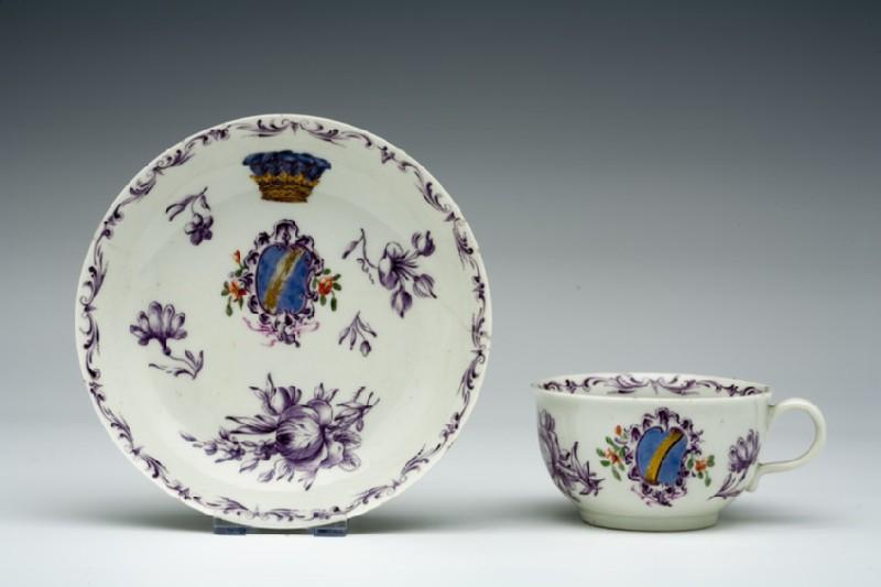 Teacup and saucer (WA1957.24.1.651)