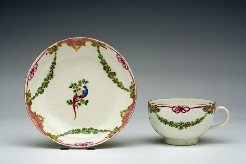 Teacup and saucer (WA1957.24.1.70)