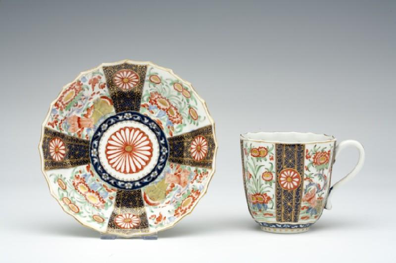 Coffee cup and saucer (WA1957.24.1.715)