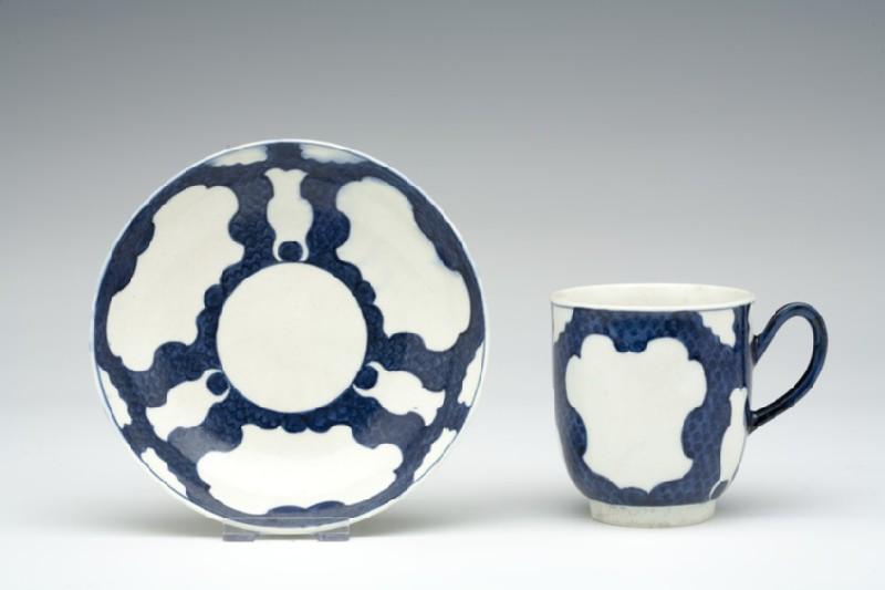 Coffee cup and saucer (WA1957.24.1.833)