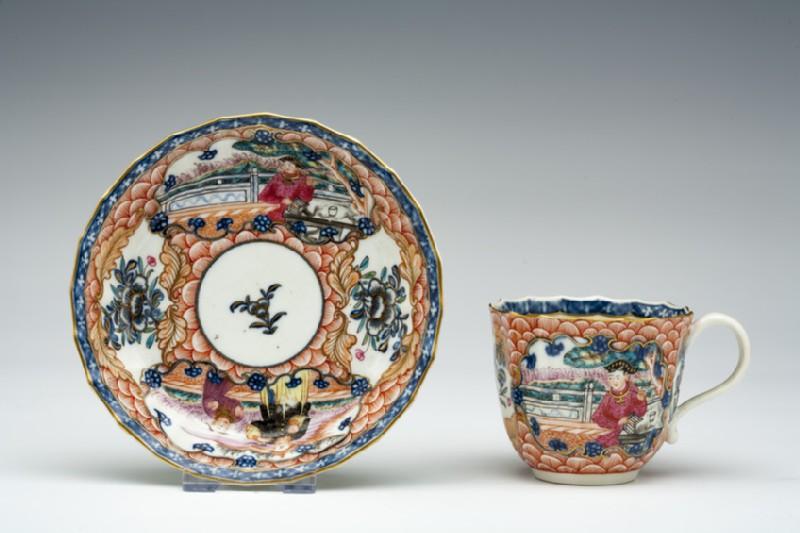 Coffee cup and saucer (WA1957.24.1.873)