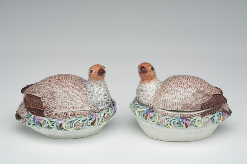 Tureen and cover, one of a pair