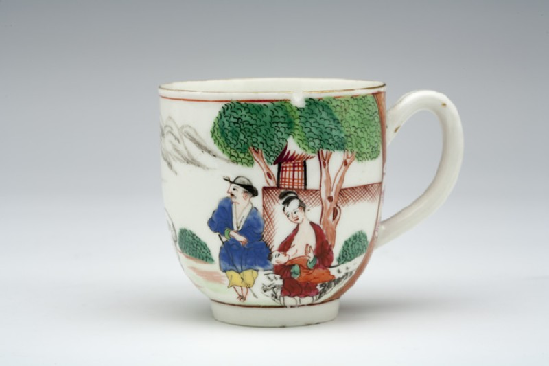 Coffee cup (WA1957.24.1.956, oblique                 )