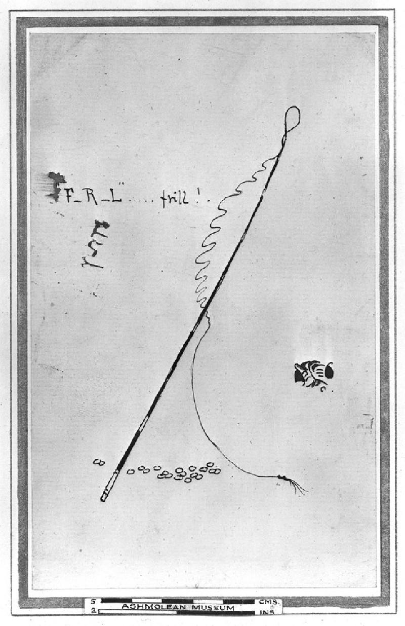 Caricature of F.R. Leyland ('Frill of Liverpool') (WA1957.25.2)