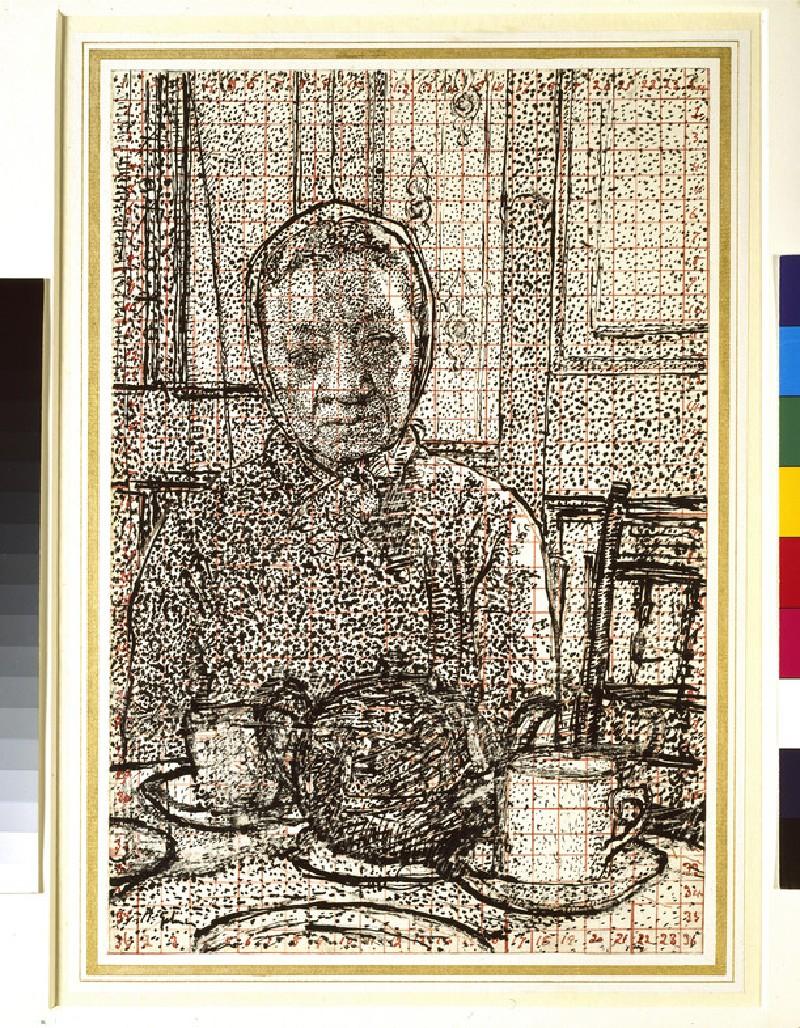 Mrs Mounter at the breakfast Table (WA1957.28)