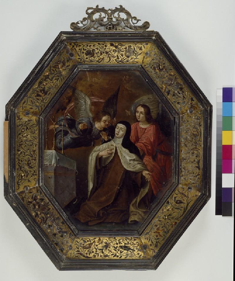 St Teresa of Avila in Ecstasy (WA1957.80.18)