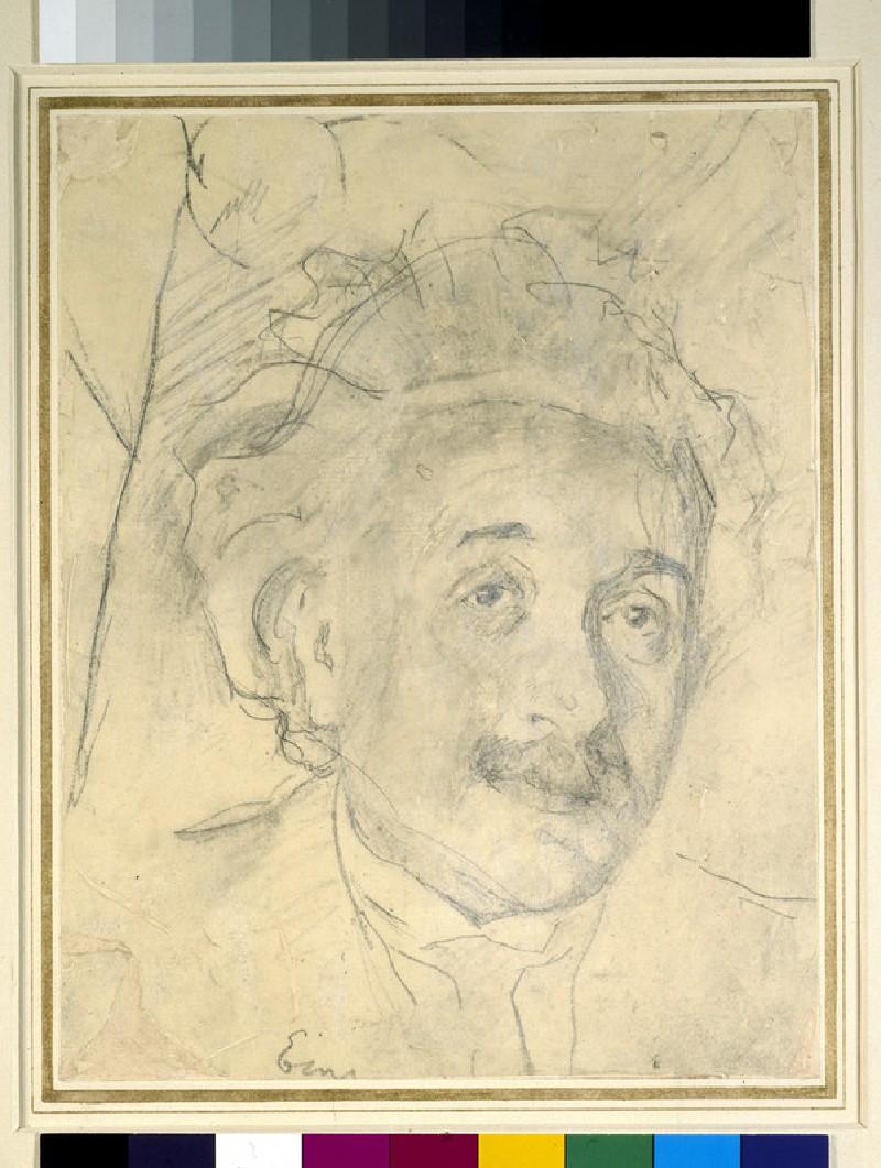 Portrait of Albert Einstein (WA1958.19.10)