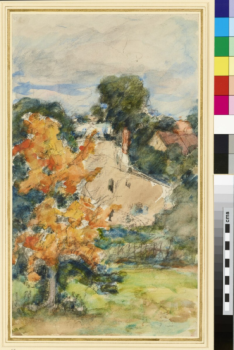 The Yellow Tree: Autumn Landscape (WA1958.19.3)