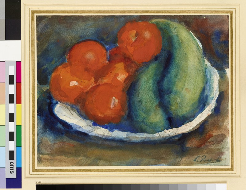 Still Life: Tomatoes and Cucumbers