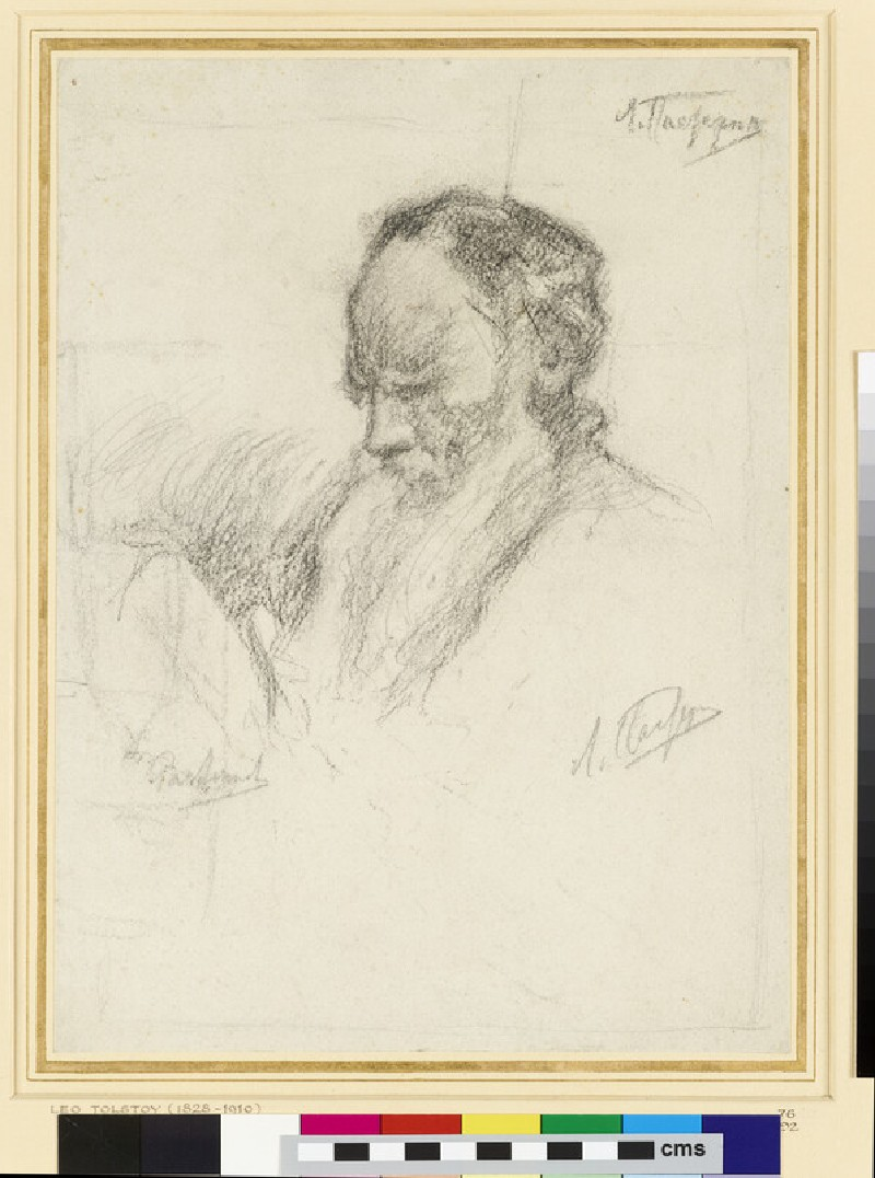 Study for the Portrait of Leo Tolstoy