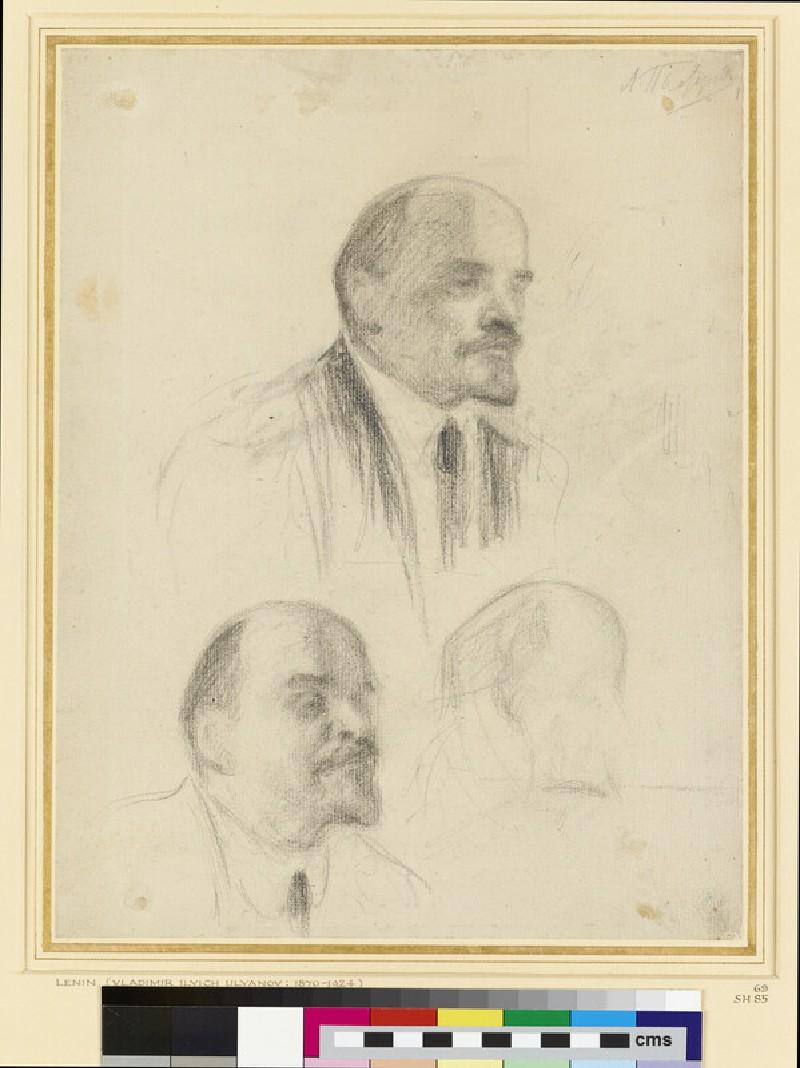 Three Studies of Lenin (WA1958.19.9)