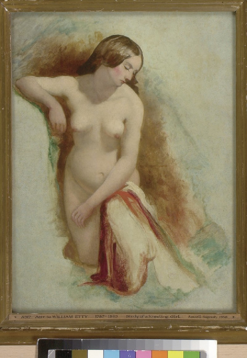 Nude Woman kneeling (WA1958.57.6)