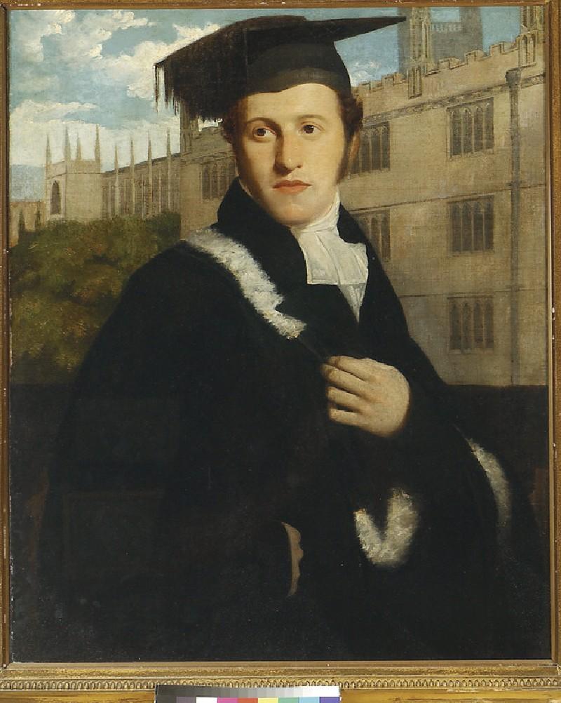 Portrait of an Oxford Undergraduate, perhaps Sir Henry Delves Broughton, Bt