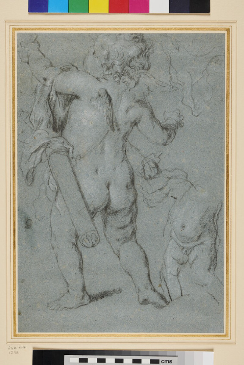Studies of a Cupid (WA1958.58, recto)