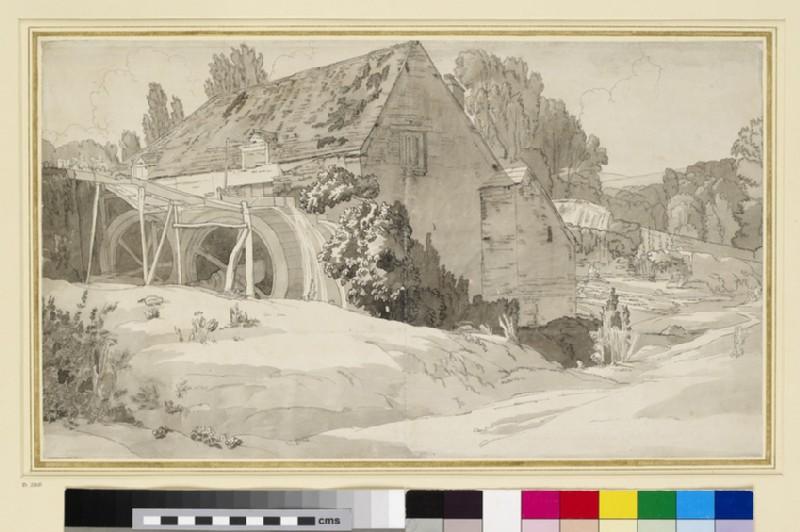 A Watermill (WA1959.12.3)