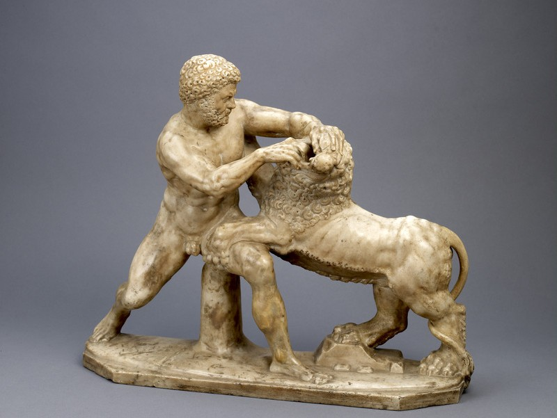 Hercules and the Nemean Lion (WA1959.44)
