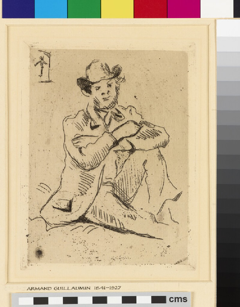 Portrait of Armand Guillaumin (1841-1927)