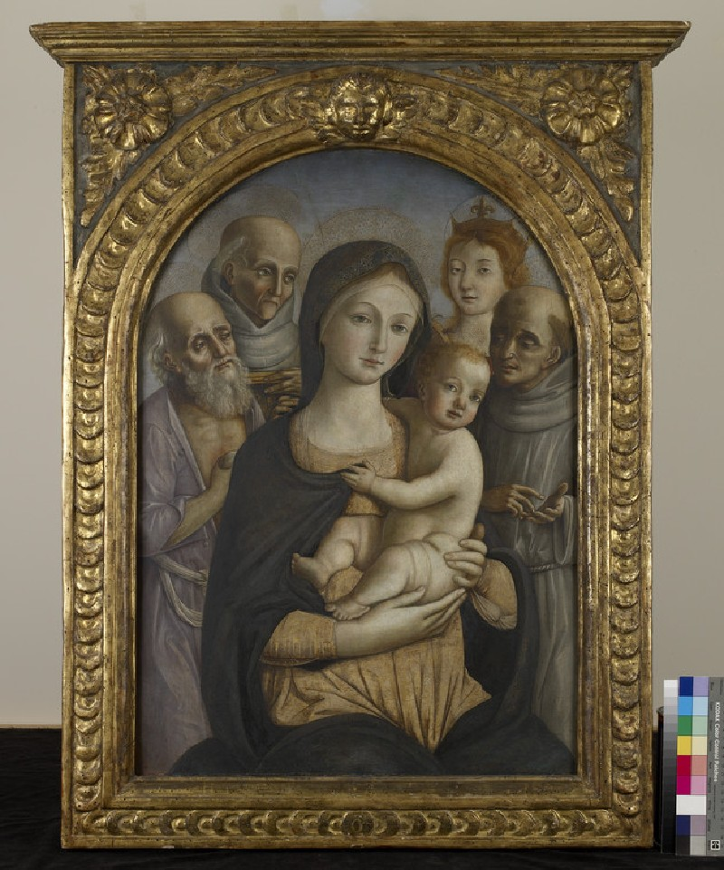 The Virgin and Child with four Saints
