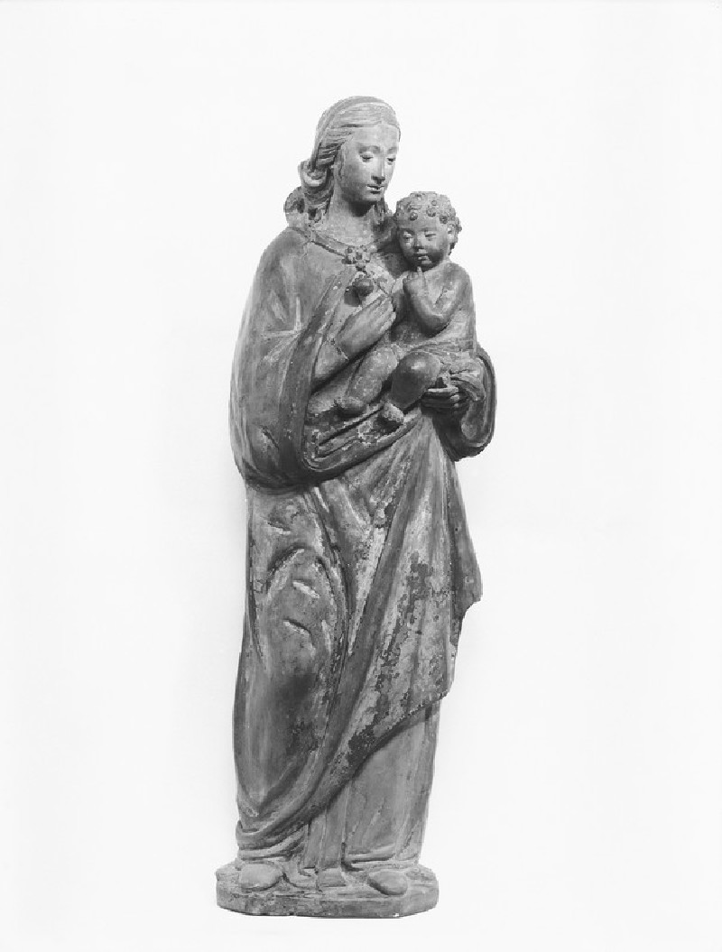 The Virgin and Child lower half