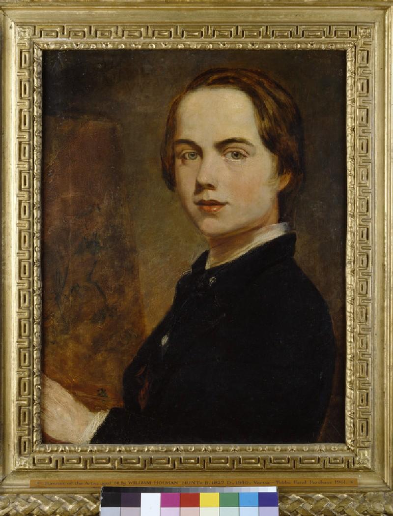 Self-portrait at the Age of 14 (WA1961.23)