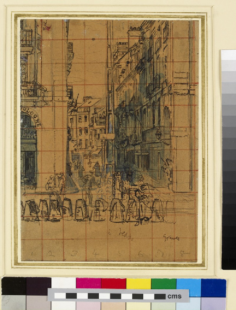 Dieppe: Study for the Elephant Poster (WA1961.28.2)