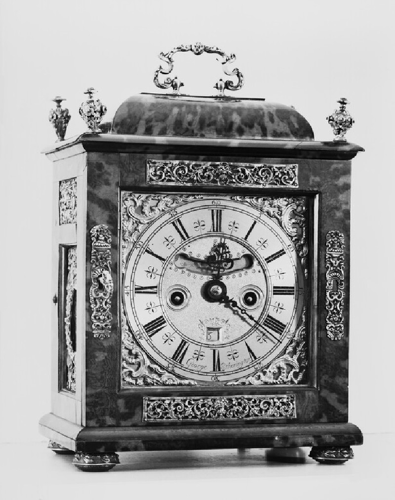 Bracket clock (WA1961.32.12)
