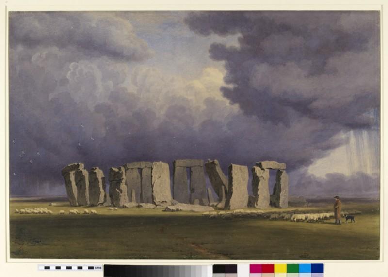 Stonehenge: Stormy Day (WA1961.39)