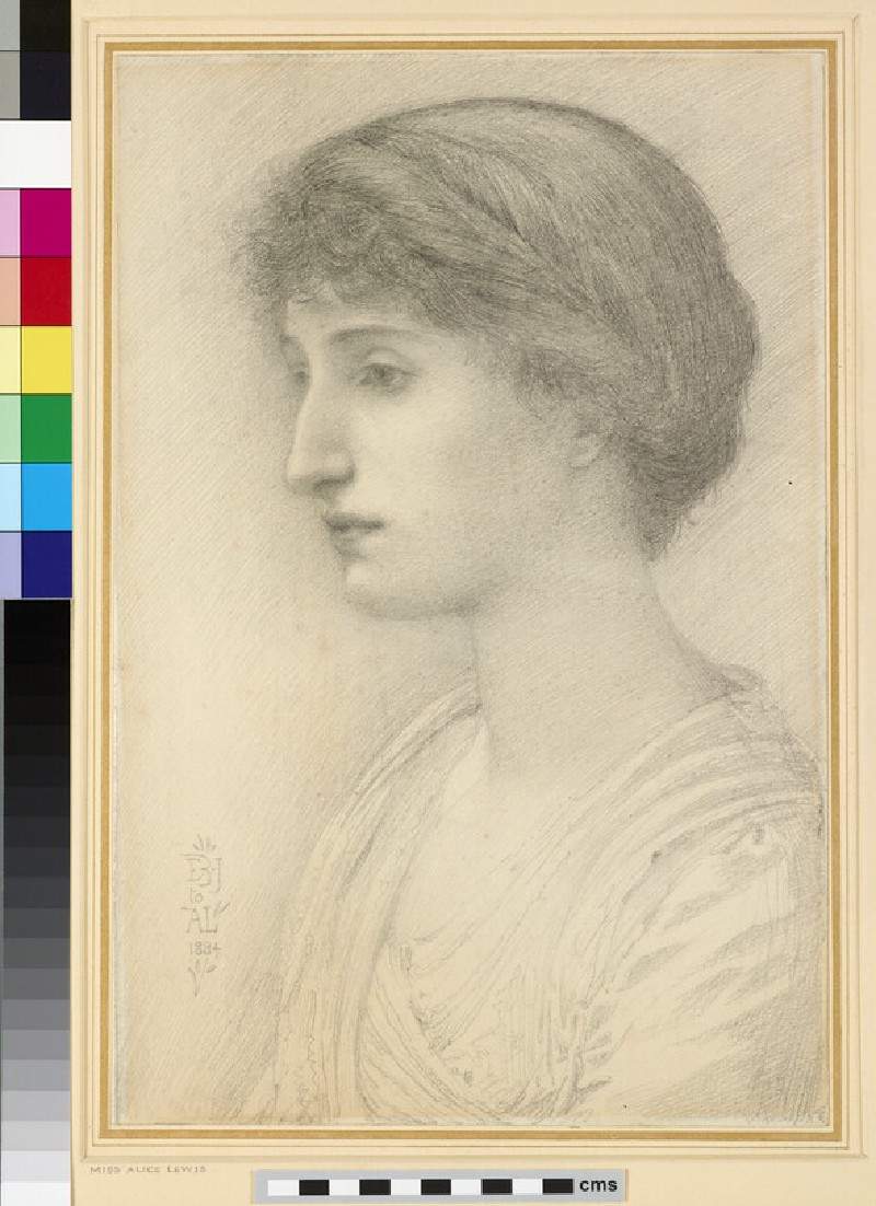 Portrait of Miss Alice Lewis (WA1961.56)