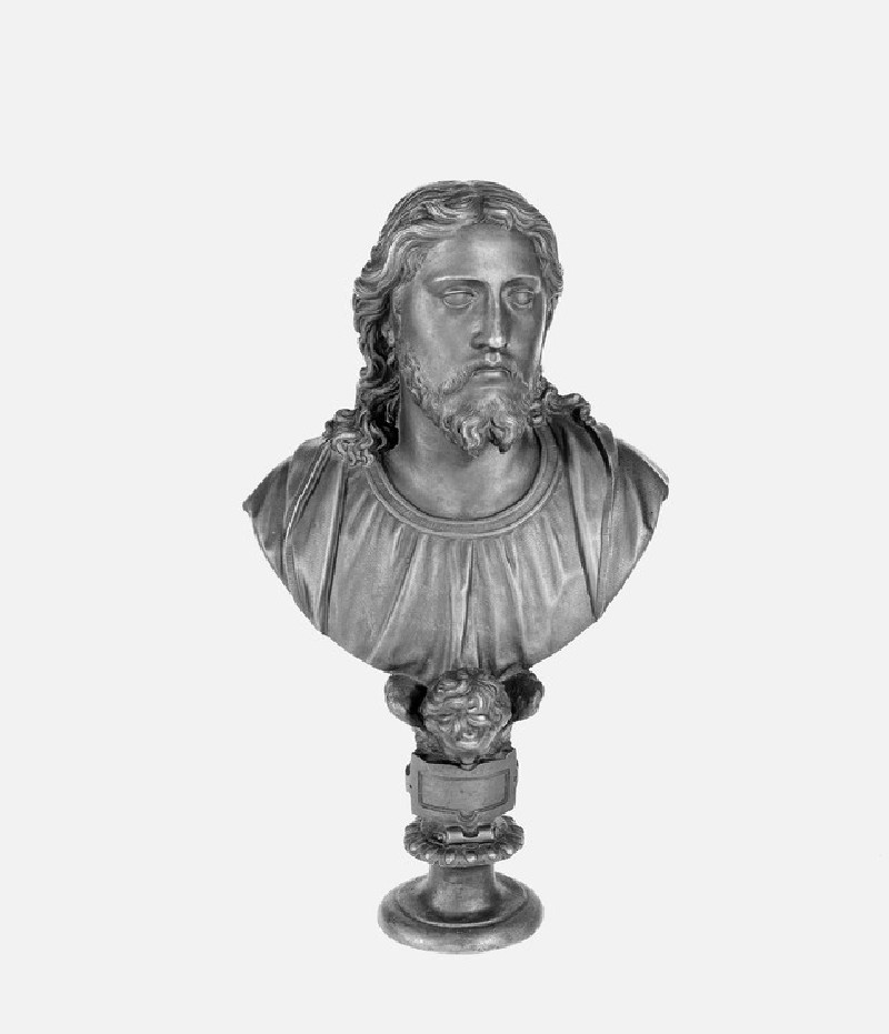 Bust portrait of Christ
