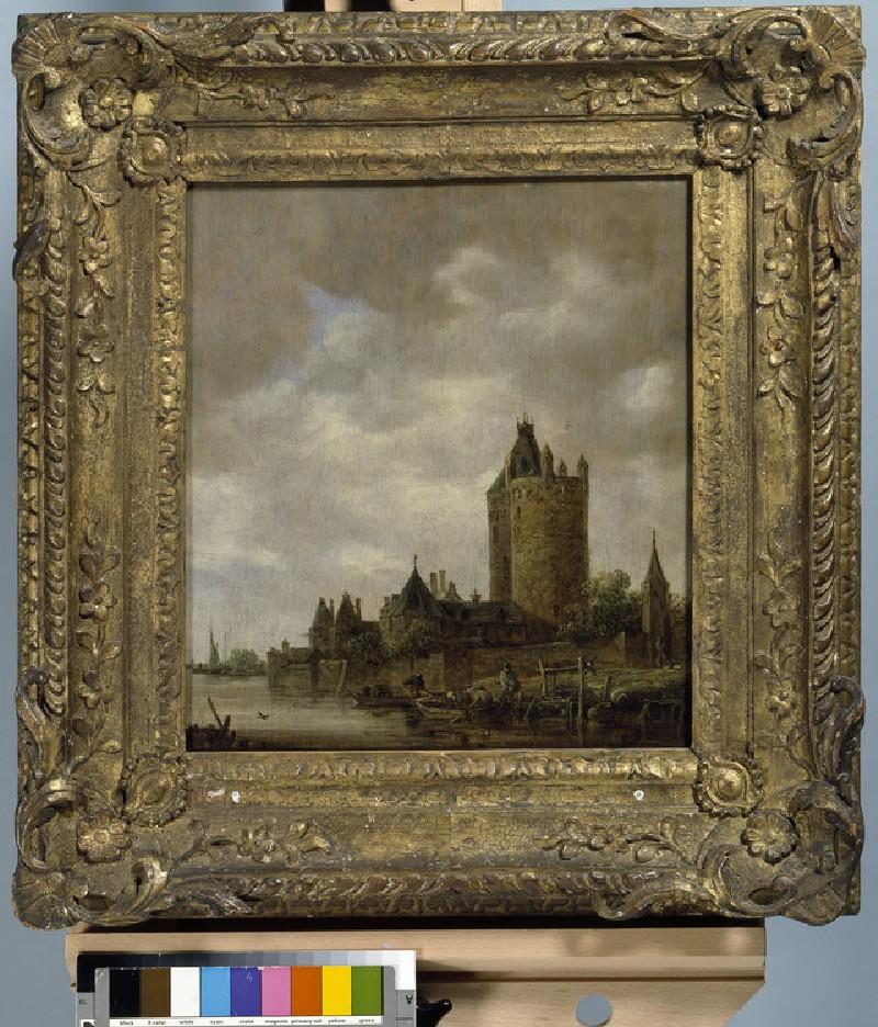 A Castle by a River (WA1962.17.15)