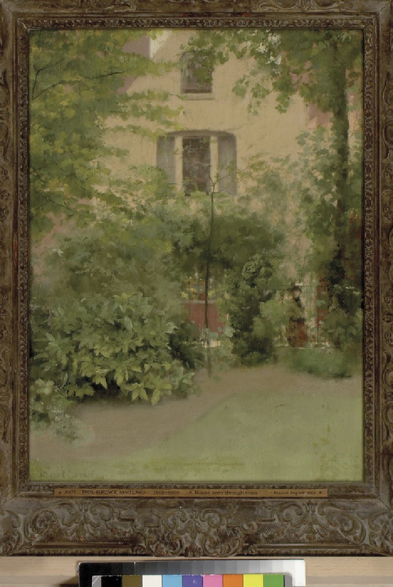 A House seen through Trees (WA1962.17.19)