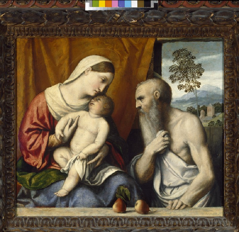 The Virgin and Child with St Jerome (WA1962.17.22)