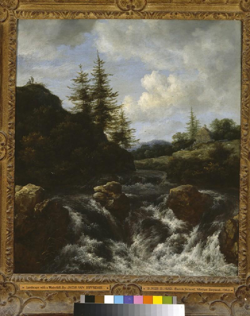 Landscape with a Waterfall (WA1962.17.24)