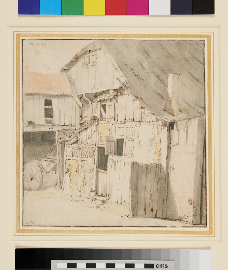 Study of a Farmhouse