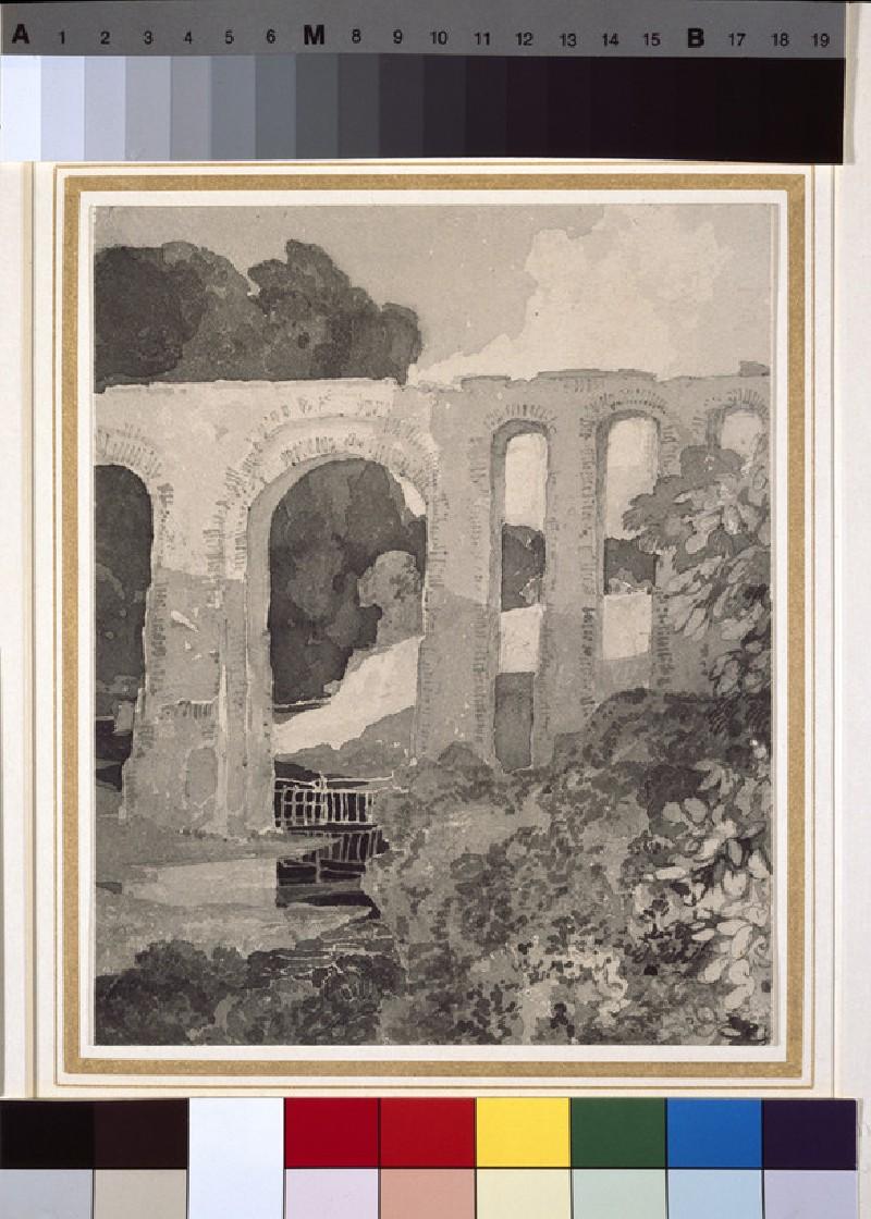 Telford's Aqueduct, at Chirk (WA1962.17.63)