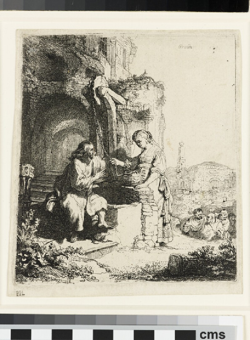 Christ and the Woman of Samaria among Ruins (John 4: 5-20)