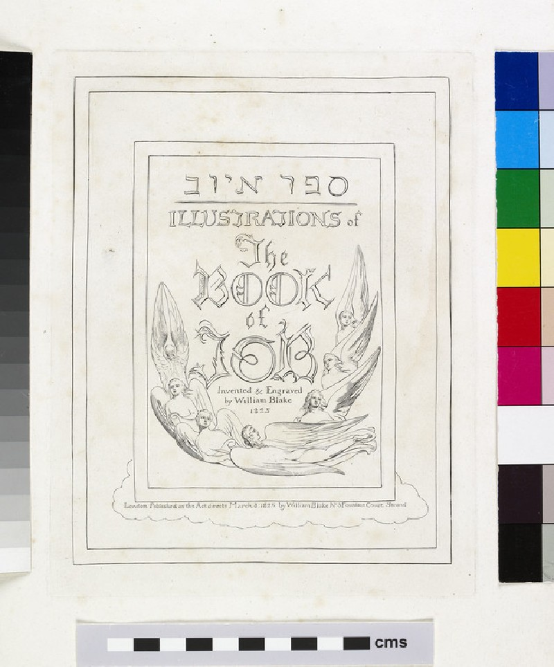 Illustrations of 'The Book of Job'