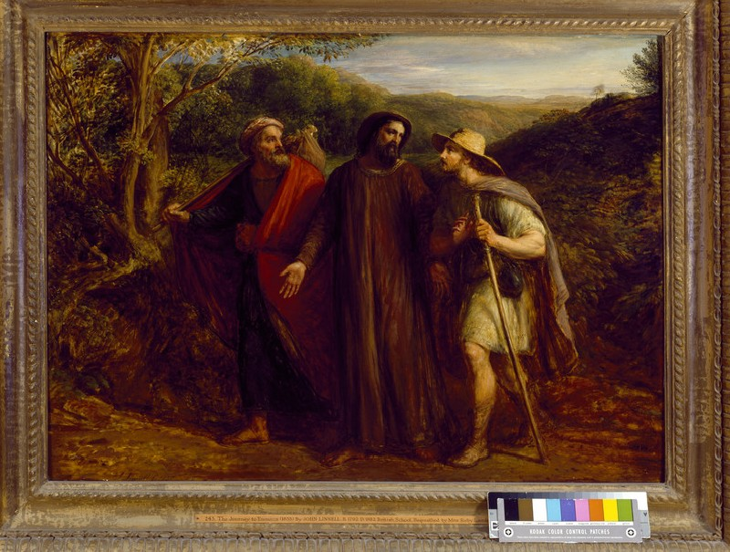 Christ's Appearance to the Two Disciples journeying to Emmaus (WA1963.122)