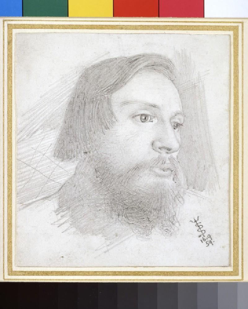 Portrait of Sir Edward Coley Burne-Jones