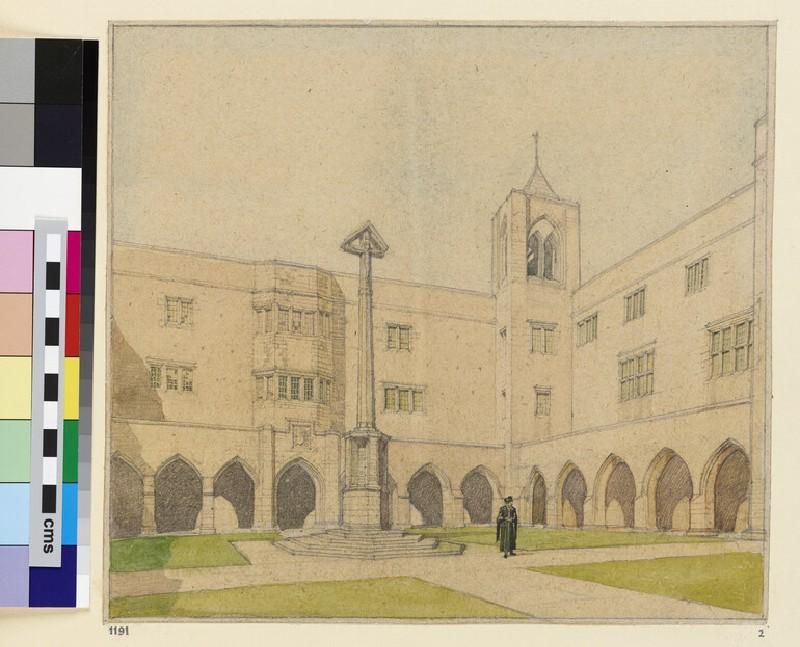 Stonyhurst College: New Quadrangle (WA1963.149.40)