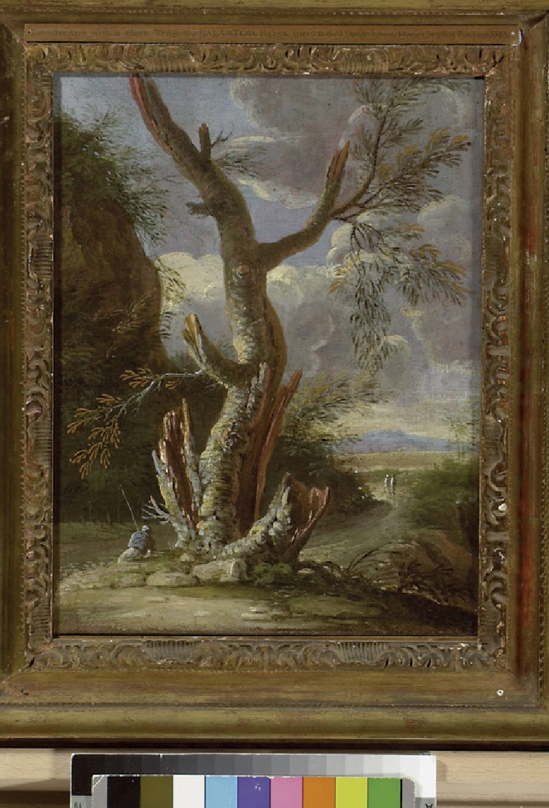 Landscape with a cleft Tree (WA1963.27)