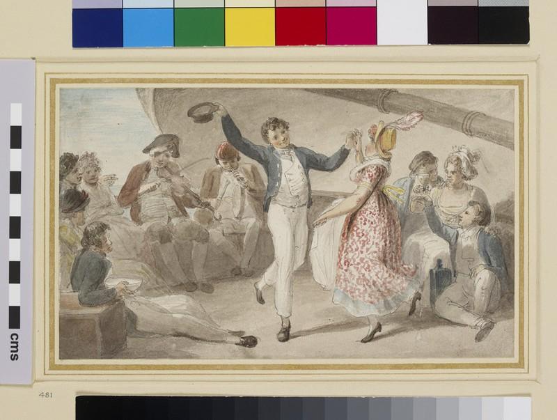 Dance on a Gravesend Boat