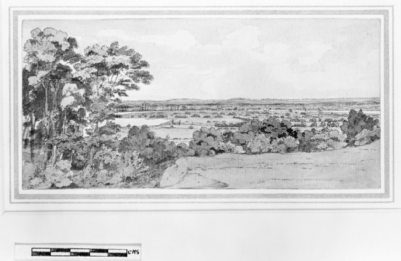 Greenwich Park and the River Thames (WA1963.89.41)