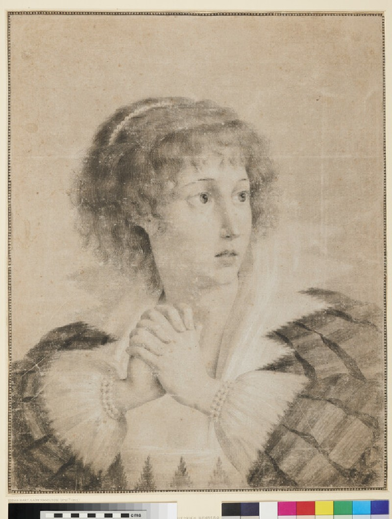 Lady Hamilton as Cordelia